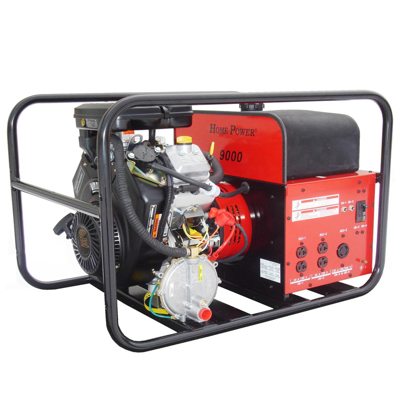 Winco Generators Home Power HPS9000VE Tri Fuel Portable