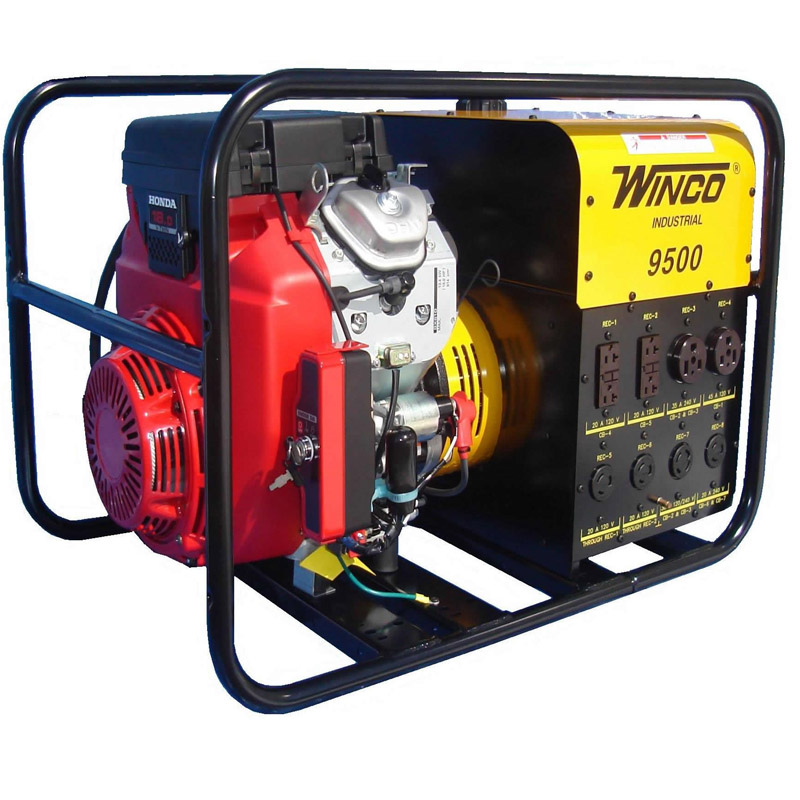 Winco Generators Wc10000ve Industrial Portable Generators
