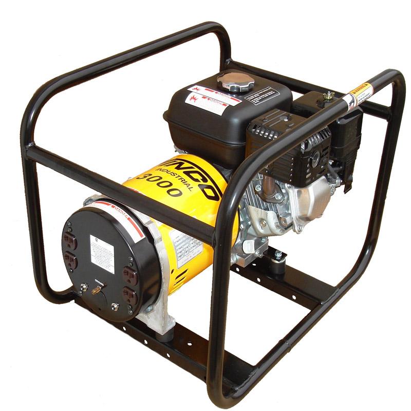 Winco Generators Wt3000h Industrial Portable Generators