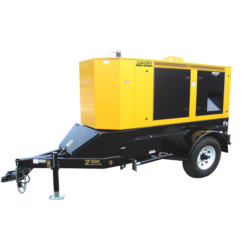 Tractor Trailer Generators : Winco generators rp mobile diesel power systems