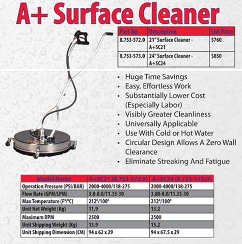 Viper V-SS22SC flat surface cleaner