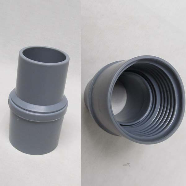 """Carpet Cleaning Vacuum Hose 2/"""" inch Cuff to Cuff Barbed Connector"""