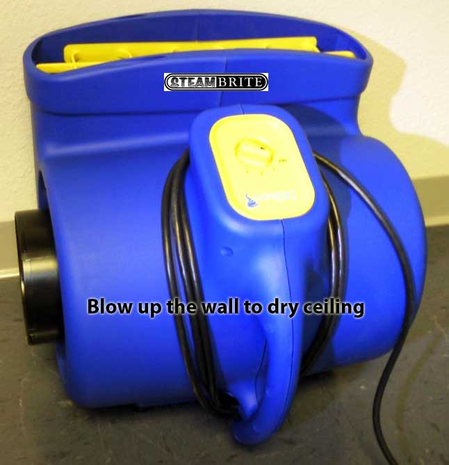 water damage ductable air mover dehumidifier