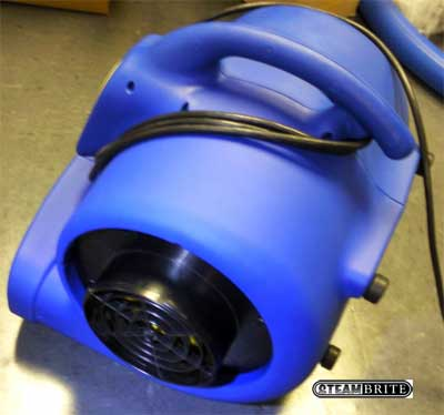 air mover that you can duct air with