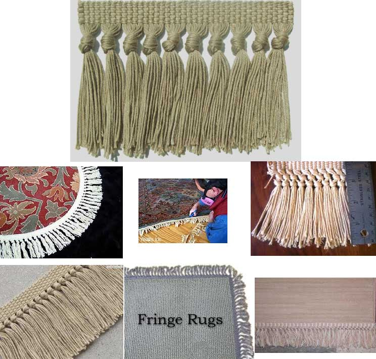 San Antonio Area Rug Fringe And Re Fringing Service Area