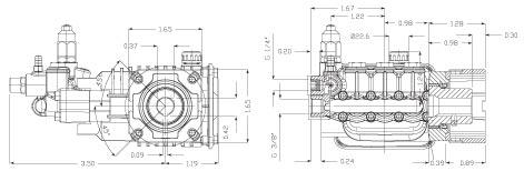 Ar Pump Rsv4g40hd F40 Replacement Pressure Washer 4 Gpm