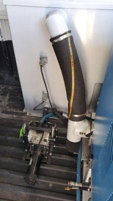 auto pump out truckmount