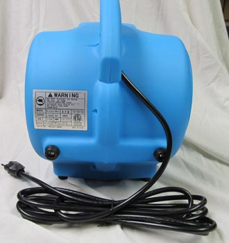 back of air mover