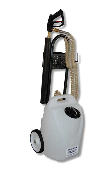 Master Clean Penguin with Wheels Electric Sprayer Free