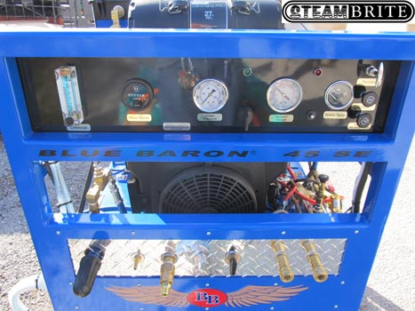 Blue Baron 45 Se 27hp Truckmount Belt Drive Bb45se