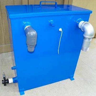 blue baron vacuum waste water truckmount tank