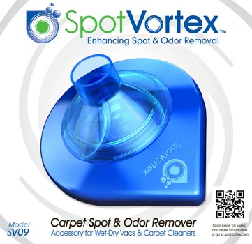 carpet spot and odor removal tool