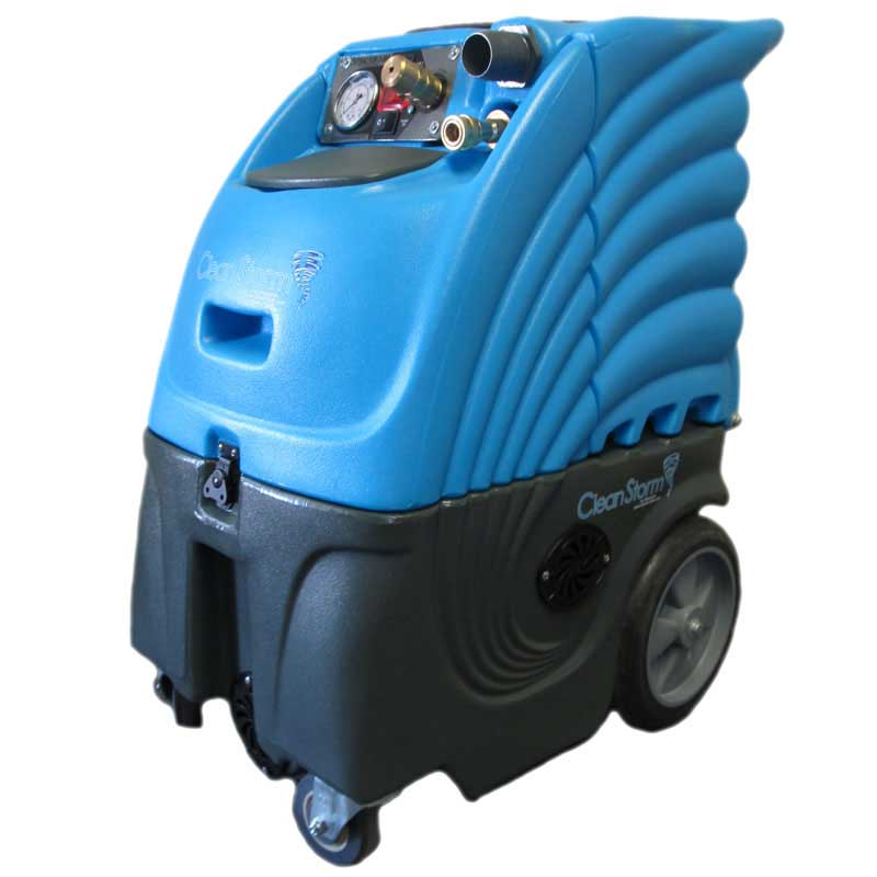 Upholstery Carpet Cleaning Machine 6gal 300psi Heated Dual 2 Stage Vacs Machine Only Clean Storm