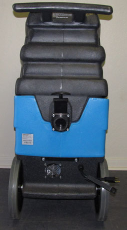carpet upholstery cleaning extractor 12 gallon Dual 2 Stage Vacuums 200cfm 220psi single cord mytee 1000dx rear view