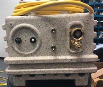 carpet cleaning 220 psi pump and 1800 watt heater