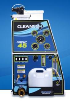 CleanCo compact 45 truckmount