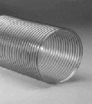 Heat Seal Equipment CL-8: 8in Clear Hose per 25 feet