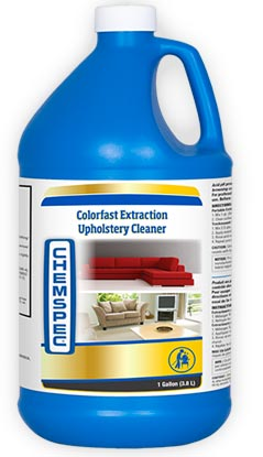 chemspec extraction cleaner for upholstery and rugs