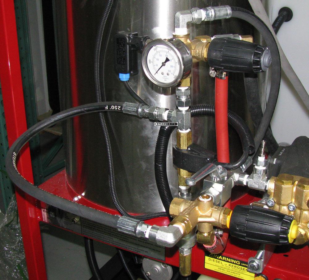 Dual Unloader Full Range Pressure System For Hydrotek