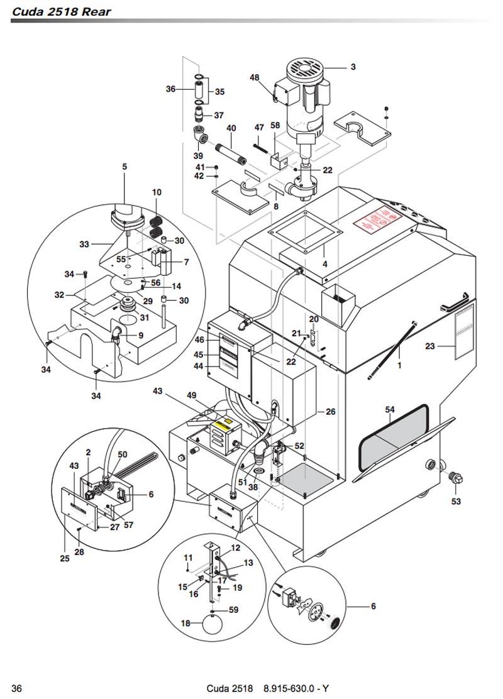 Karcher Heater 4500 Watts 240 480 Volts W Seal Sgw 2607