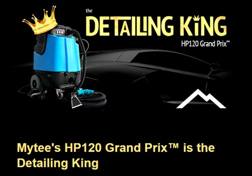 detail king auto detail machine Mytee hp120 extractor