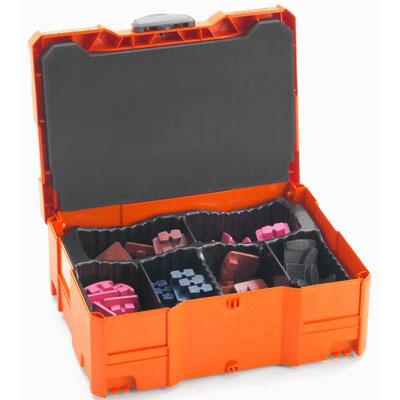 husqvarna diamond segment tool box organizer