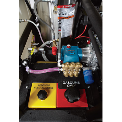 Clean Storm 38hp Synergistic Trailer Truckmount Package