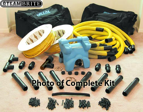 drieaz F211 inter air wall drying system complete kit