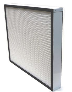 drieaz hepa 500 filter metal frame