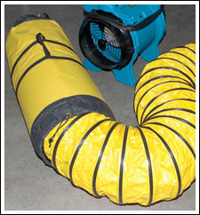 ventilation 12 inch ducting