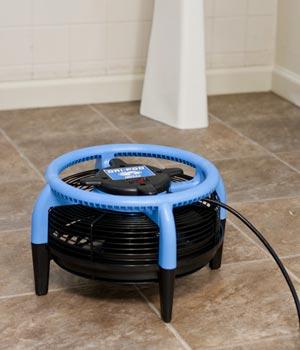 tile floor fan