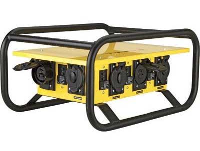 The Box 220 Volt To 115 Volt Portable Power Distribution