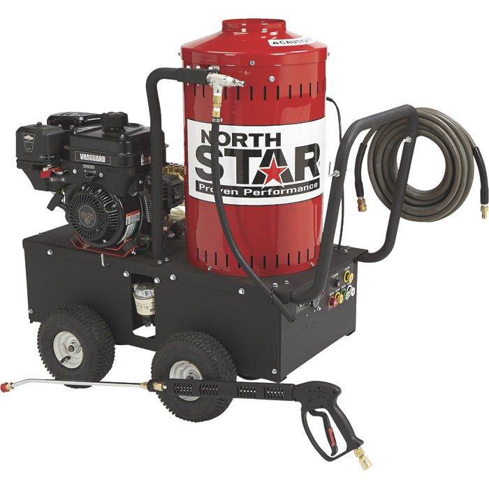 northstar 157309 gas powered wet steam hot water pressure washer 6 5northstar 1573091 gas powered wet