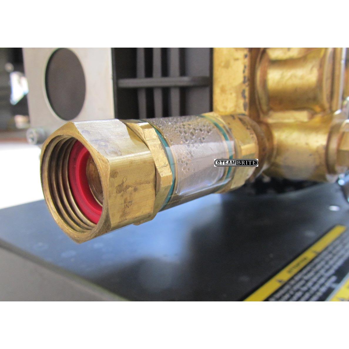 General Pump Inlet Water Filter 3 8 Mip Npt X 3 4 Garden Hose Swivel 8 710 145 0 8 710 145 0