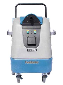 edic fb50 flood buster water suction machine