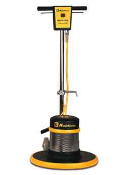 how to use floor machine