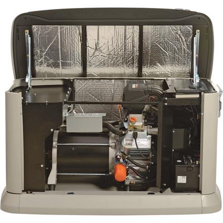 generac 7032 guardian air cooled standby generator 11 kw lp 10kw ng