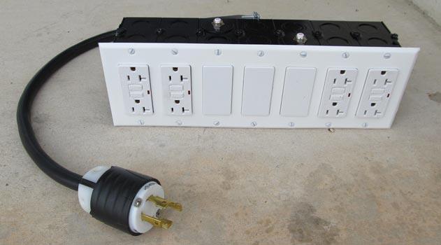 generator power slitter box