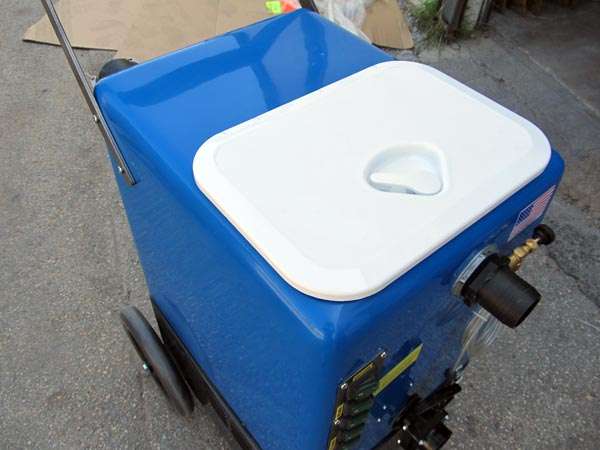 vacuum booster and flood extraction portable noah