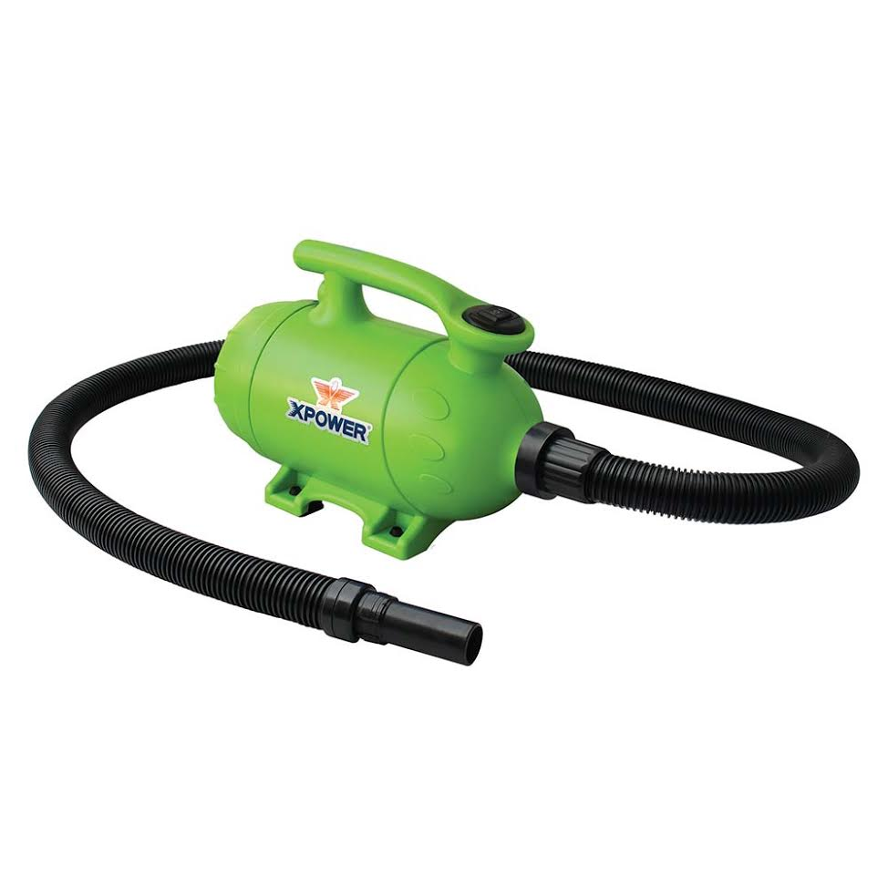 Air Force Blower Motors : Xpower b forced blower and vacuum for pet grooming