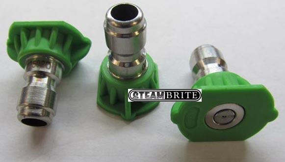 green pressure washing 25 degree nozzle