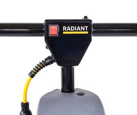Windsor 1 005 297 0 Radiant Orbital Scrubber 17 Inch Floor