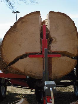 heavy duty log splitter