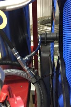 hose reel trailer system