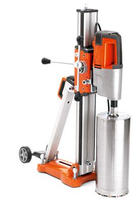 Husqvarna DMS280 concrete core drill motor stand