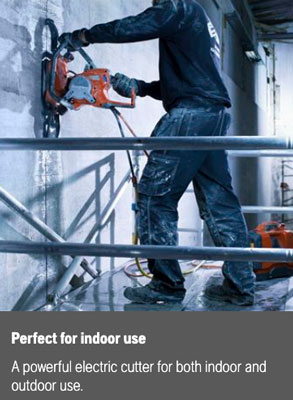 indoor concrete cutting ring saw