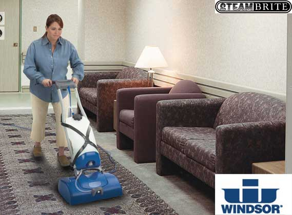 Windsor Ind Icapsol Mini Deluxe Carpet Dry Cleaning