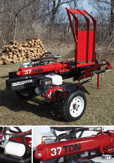 honda log splitter