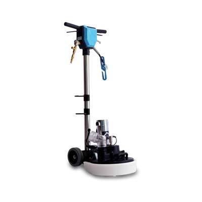 automatic fill and dump carpet cleaning machine