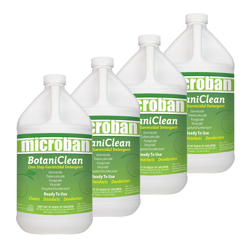 Chemspec Microban BotaniClean With Thymol MB4002000 (Case of 4 Gallons) ProRestore F369 224002000 FREE Shipping